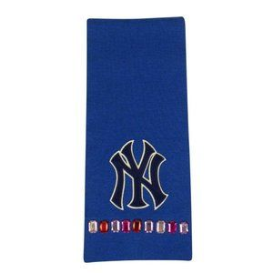 Gucci Wool NY Yankees Crystal Embellished Scarf